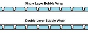 bubble wrap single double layer